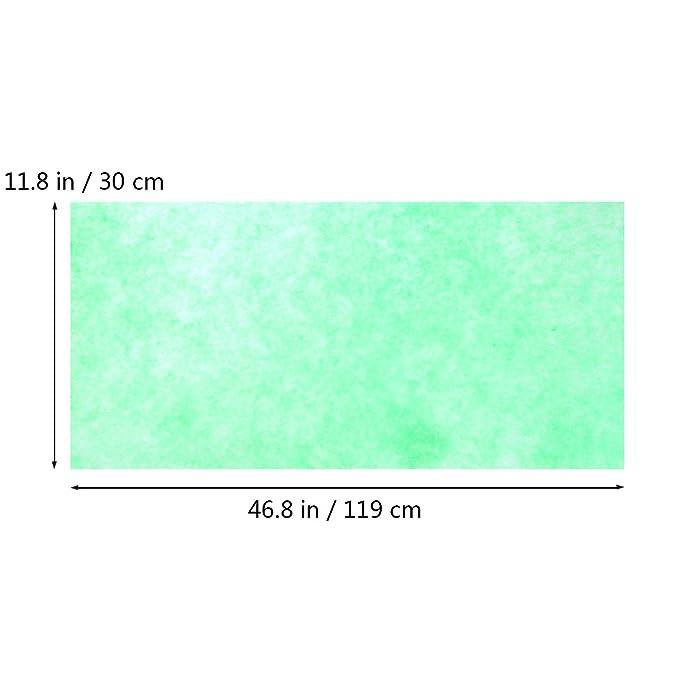 UKCOCO Espuma filtrante Bioquímica del Filtro del Acuario del Filtro de la Esponja del Acuario del Filtro para los Tanques de Acuario 120x30x0.8cm: ...