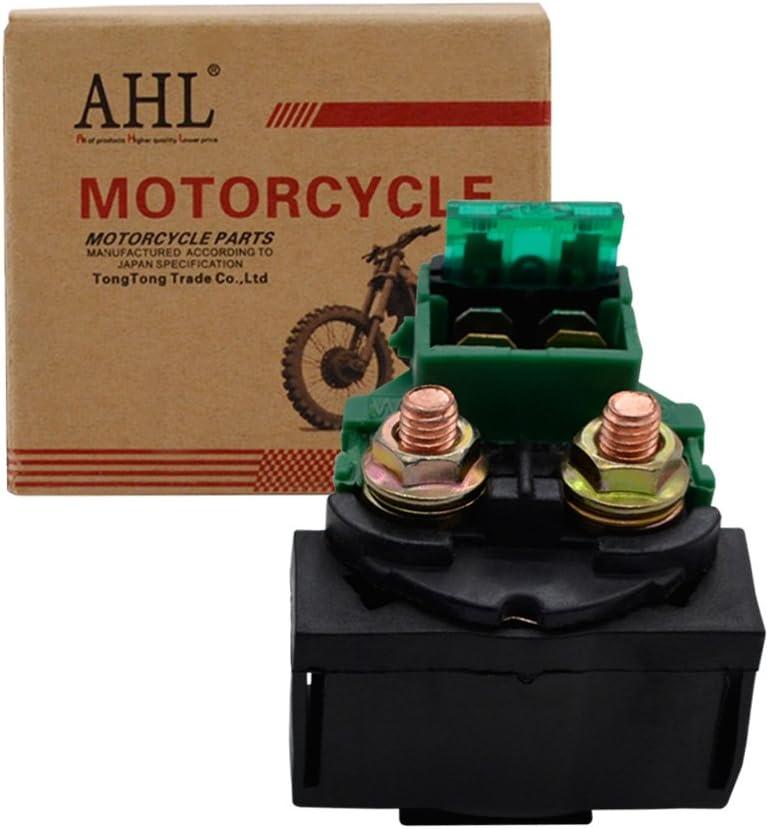 AHL Motocicleta Solenoide Rel/é De Arranque para VF1000F VF1000R VF 1000 1984 1985