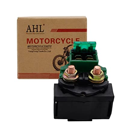amazon com: ahl starter solenoid relay for honda cb 400 650 750 900 700 cbx  cbr 1000 gl 1100 1200 1500 cx vf 500 vt xlv 600: automotive