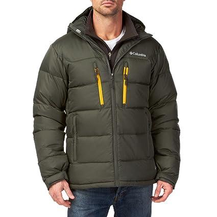 2adeaa04754 Amazon.com  Columbia Alaskan II Down Hooded grey (Size  XXL) duvet ...