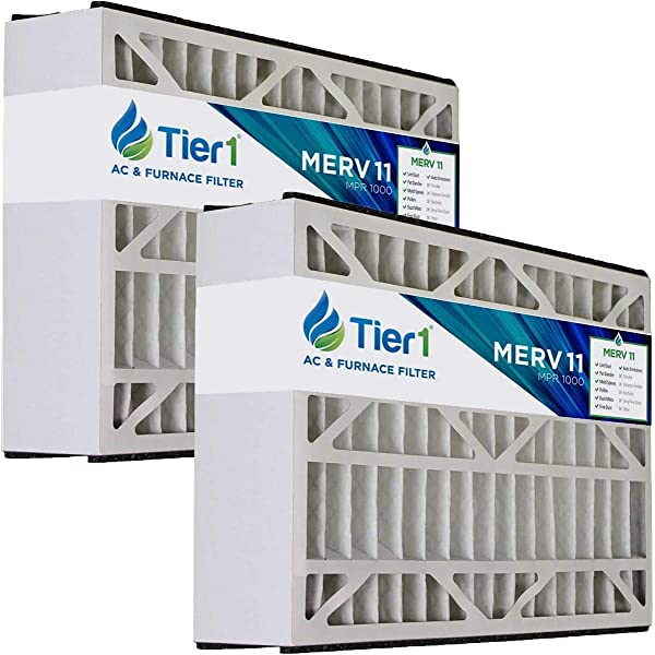21x27x5 20 7x26 2x5 Merv 13 Aftermarket Trane Replacement Filter 2 Pack Replacement Furnace Filters Amazon Com