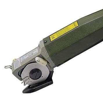 Circulares cuchillo Tijeras eléctricas Tela Tela cortador eléctrico redondo para máquina de cortar circular de tela cortador Tijeras: Amazon.es: Oficina y ...