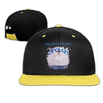9bbf268c040 Mooy Cry Baby Unisex Children Baseball Cap Flexfit Hat Yellow  Amazon.ca   Sports   Outdoors