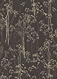 Cheap Rug Empire Transitional Trees Rustic Area Rug, 5'3″ W x 7'3″ L, Aspen Brown