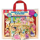 T.S. Shure Princess, Ballet and Fairies Magnetic Wooden Playboard