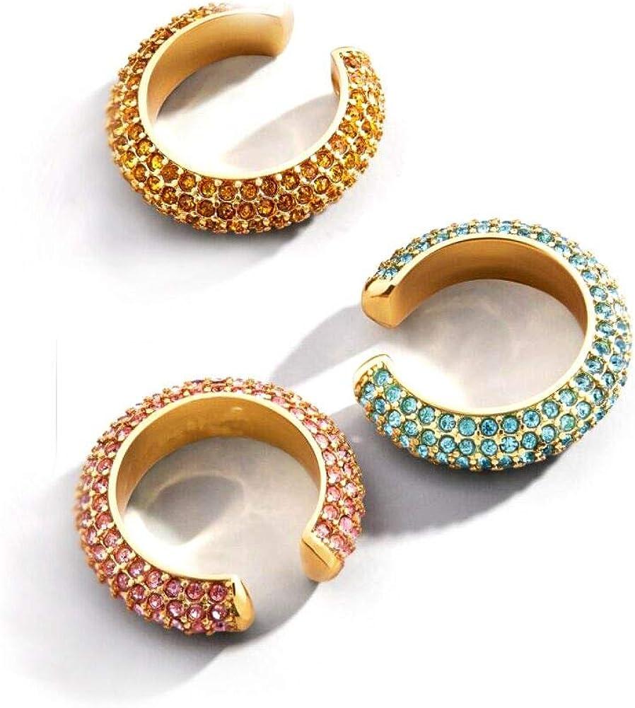 Tiande 3pcs Ear Cuffs...