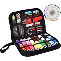 Sewing KIT Premium Repair Set, XL Sewing Supplies for DIY,Easy to USE Portable Mini Mending Button Travel Sew Kits…
