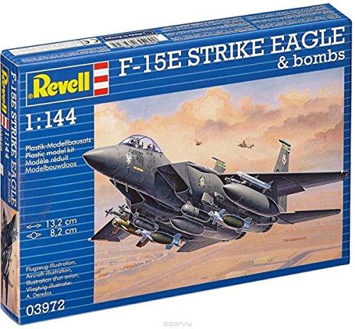 - Revell Germany Kids 1/144 F-15E Strike Eagle Model Kit