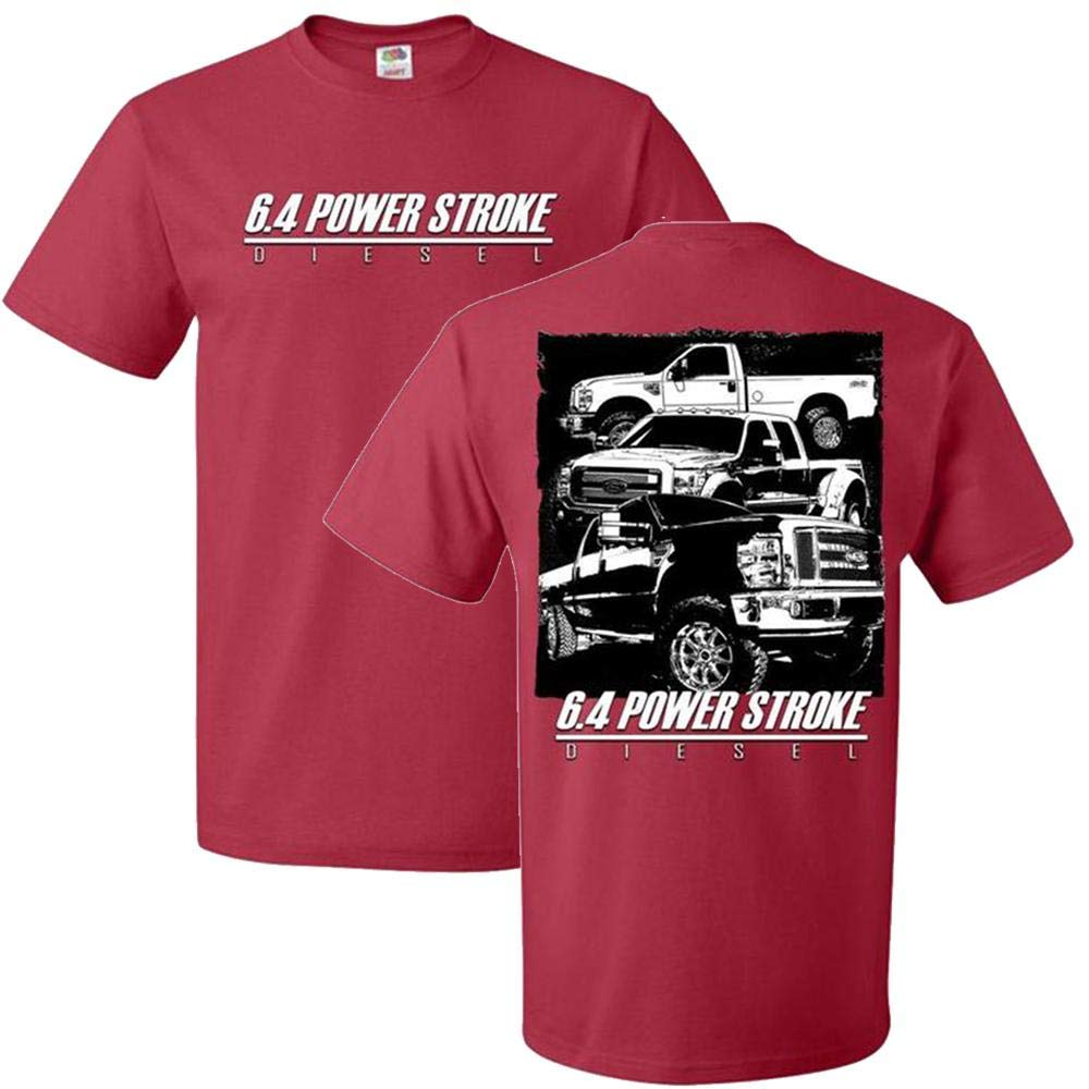 Aggressive Thread 6.4 Power Stroke Trucks Powerstrok T-Shirt