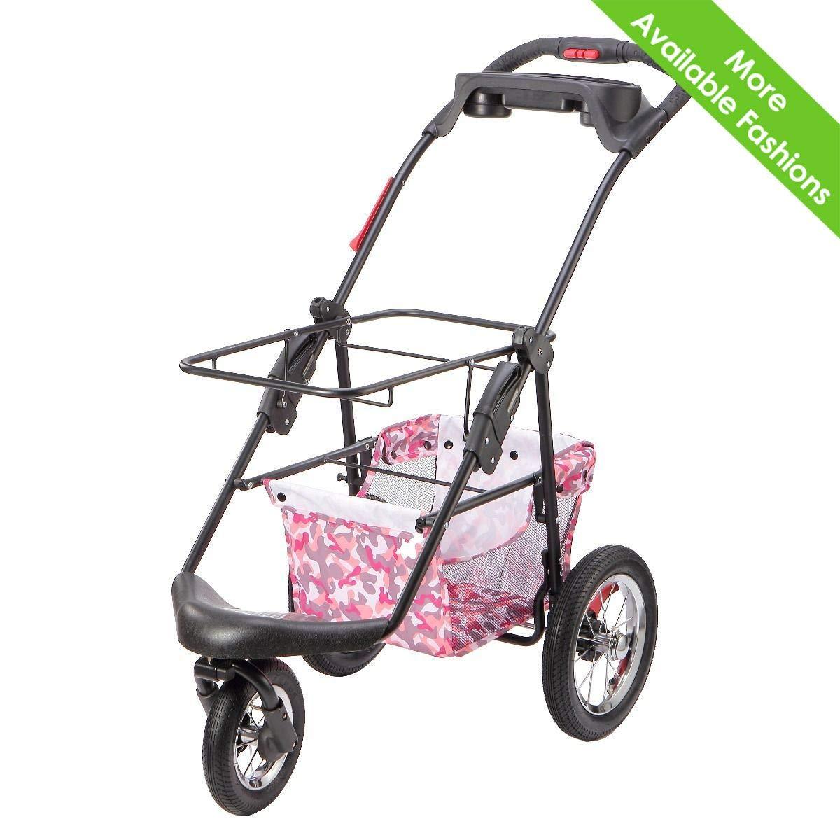 PETIQUE PC02010103 Pet Stroller, Black, One Size