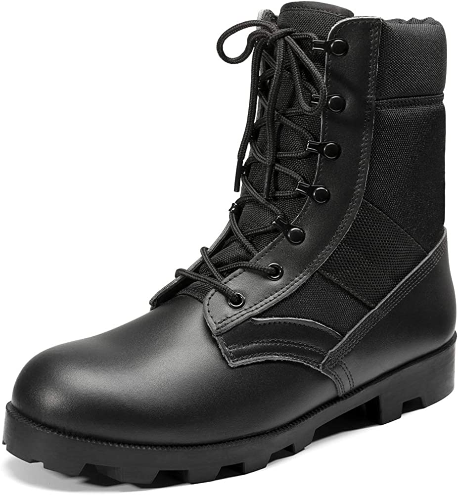 KaiFeng Mens Military Tactical Army Boots for Men Lightweight Jungle Boots: Shoes
