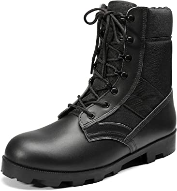 Amazon.com: KaiFeng Mens Military Tactical Army Boots for Men Lightweight  Jungle Boots: Shoes