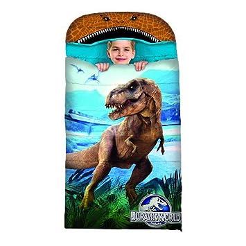 finest selection 7ccff 415c5 Jurassic World Kids Hooded Sleeping Bag: Amazon.co.uk ...