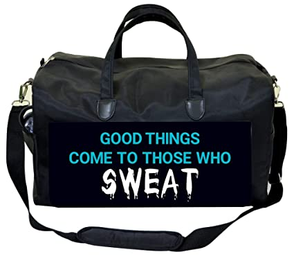 Jacks Outlet Good Things Come to Those Who Sweat Gym Bag