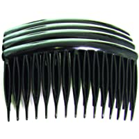 Body Tools Side Combs 4 Pack, Black