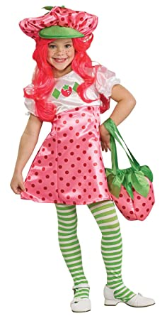 deluxe strawberry shortcake costume small - Kids Halloween Costumes Amazon