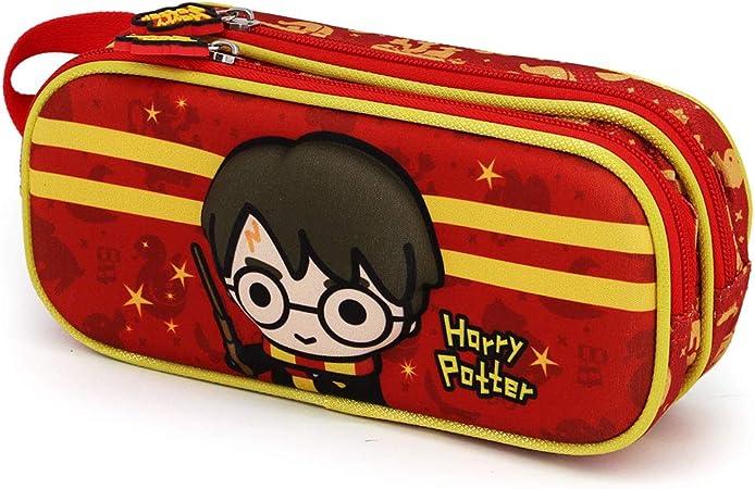 Karactermania Harry Potter Wand Estuche Portatodo 3D Doble, Talla Única, Multicolor: Amazon.es: Equipaje