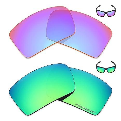 Mryok+ 2 Pares de Lentes polarizadas de Repuesto para Gafas Oakley ...