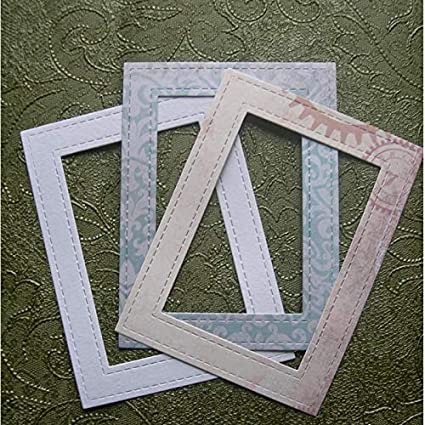 FRAME 3 small die cuts scrapbook cards