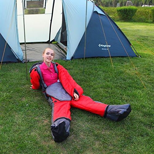 KingCamp Season Body Sleeping Bag Free Walker Design