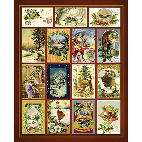 Bits and Pieces - 500 Piece Jigsaw Puzzle for Adults - Christmas Greetings Quilt - 500 pc Happy Holidays Jigsaw by Artist