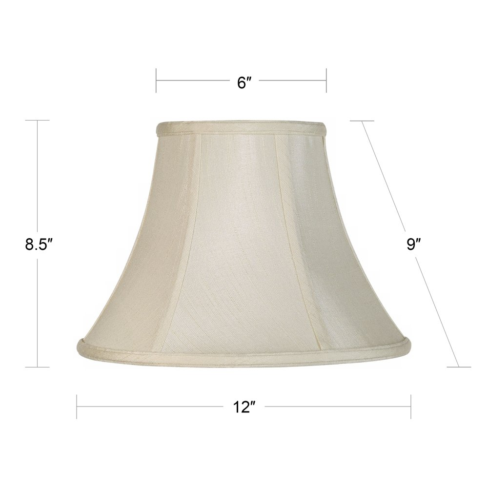 Amazon lamp shades tools home improvement - Imperial Collection Creme Bell Lamp Shade 6x12x9 Spider Lampshades Amazon Com