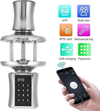 Bluetooth Smart Security Anti-Theft APP Keyboard Password Electronic Lock Cylinder Digital Keypad Lock Keypad Door Lock