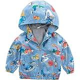H.eternal Girls Waterproof Jacket Baby Children Camouflage Coat Autumn Raincoat Parka Hooded Rainsuit Windbreaker Clothes Lightweight Mac Summer Outdoor Showerproof Rainwear
