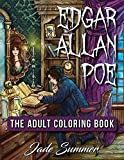 Edgar Allan Poe: An Adult Coloring Book with Classic Horror Characters and Haunting Gothic Scenes for Relaxation