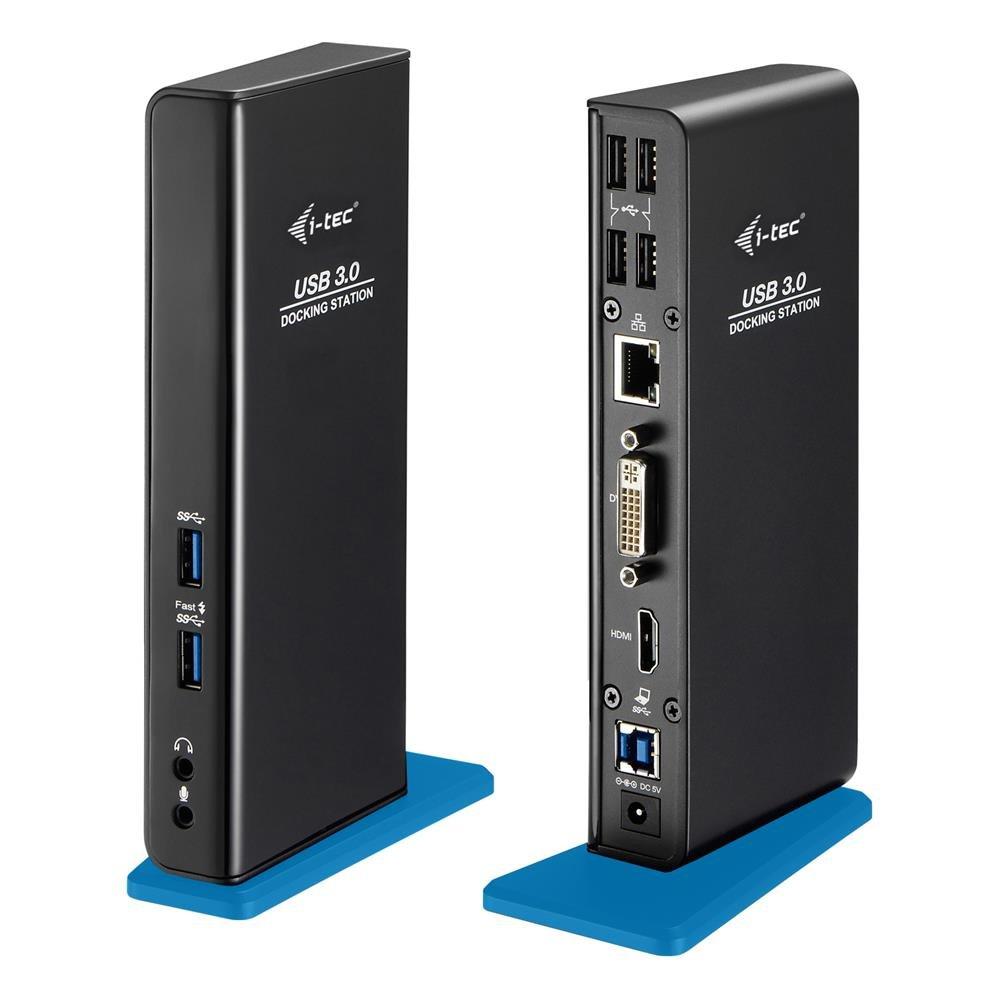 i-tec USB 3.0 Dual Docking Station Full-HD /& Basics HL-007268 Verbindungskabel f/ür Tablets und Notebooks /– HDMI, DVI 2X Full HD+ 2048x1152 + 4X USB 2.0 Port, 2X USB 3.0 Port 1,8/m