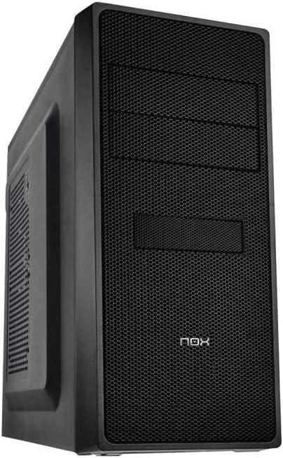 Caja Semitorre ATX NOX NXCBAYRX USB 3.0 Negro