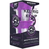 Reusable K Cups for 2.0 and 1.0 Keurig K Cup Style Coffee Maker- 2-Pack K-Cups plus Double Bonus Scoop and Charcoal Filter- Use pods on Over 40 K-CUP Coffee Makers- By Coffee Bean N Leaf Brews