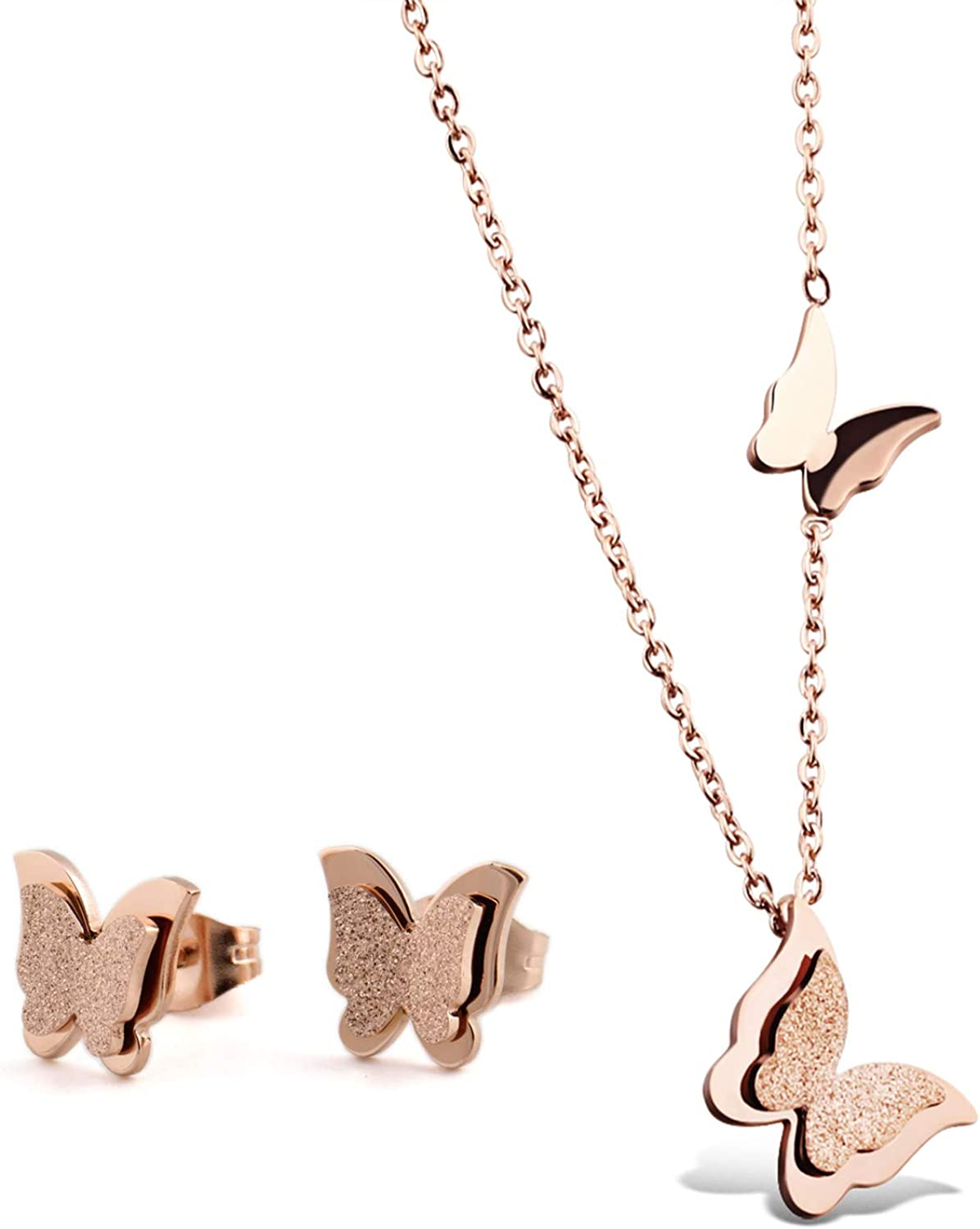 Marrymi Necklaces Butterfly...