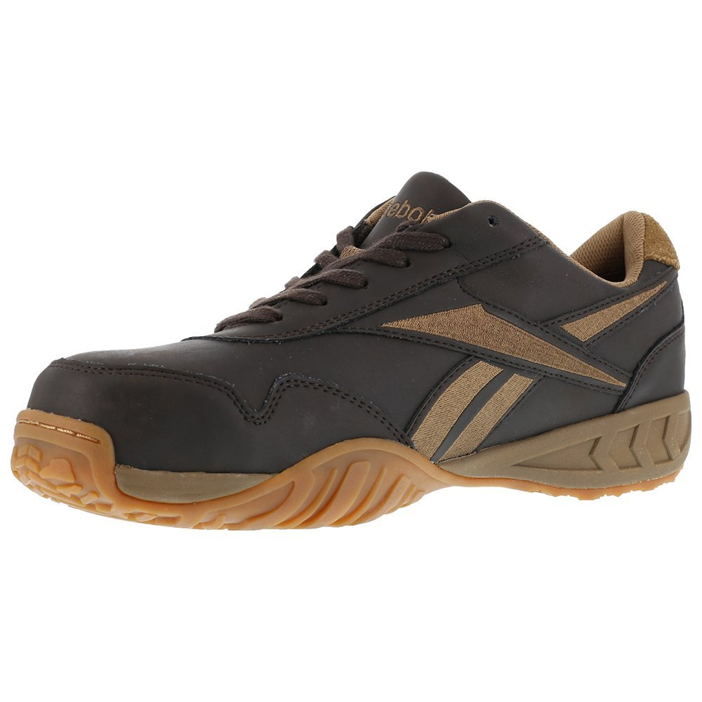 Reebok Men's Bema Work Shoes Composite Toe - Rb1945 B00D4BCHTY 5 D(M) US|Brown