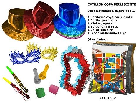 CAPRILO Lote de 10 Bolsas de Cotillones Decorativas Sombrero ...