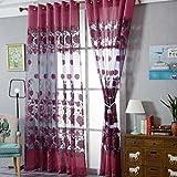 Fashion Flannelette Window Curtains For Home, Wedding, party, restaurant, hotel, shopping center, pub,Tuscom (#3)