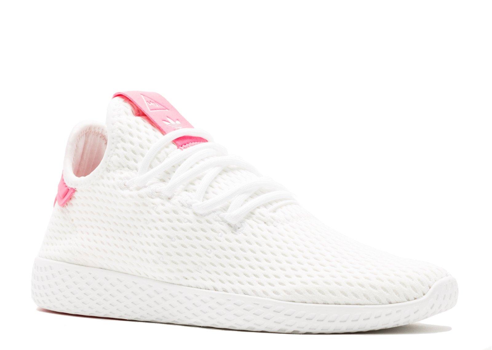 sneakers for cheap 9901e ed527 Galleon - Adidas Mens Pw Tennis Hu Sneaker (11.5 D(M) US, White Semi Solar  Pink)