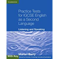 Practice Tests for IGCSE English as a Second Language: Listening and Speaking Book 1 with Key (Cambridge International IGCSE)