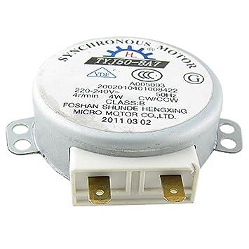 Motor Sincrónico Giratorio para Horno de Microondas de 4W AC 220 ...