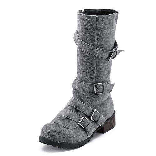 727f9d06e03d7 Adulto botines Quicklyly Para Mujer zapatos Botas De Otoñoinvierno qWWtXg