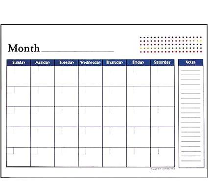 BAZIC 17 X 22 Undated 12 Months Desk Pad Calendar