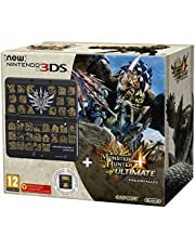 New Nintendo 3DS: Console, Nero + Monster Hunter 4 Ultimate Pack - Limited Edition