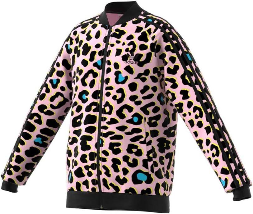 adidas Kids LZ Leopard Print SST Superstar Track Jacket ...