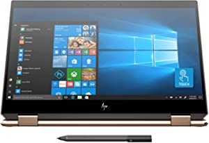 Newest HP Spectre x360 15t Touch 10th Gen Intel i7-10510U, Pen, 3 Years McAfee Internet Security, Windows 10 Professional Key, 4K IPS, HP Worldwide Warranty, 2-in-1 laptop PC (16GB, 1TB SSD, Dark Ash)