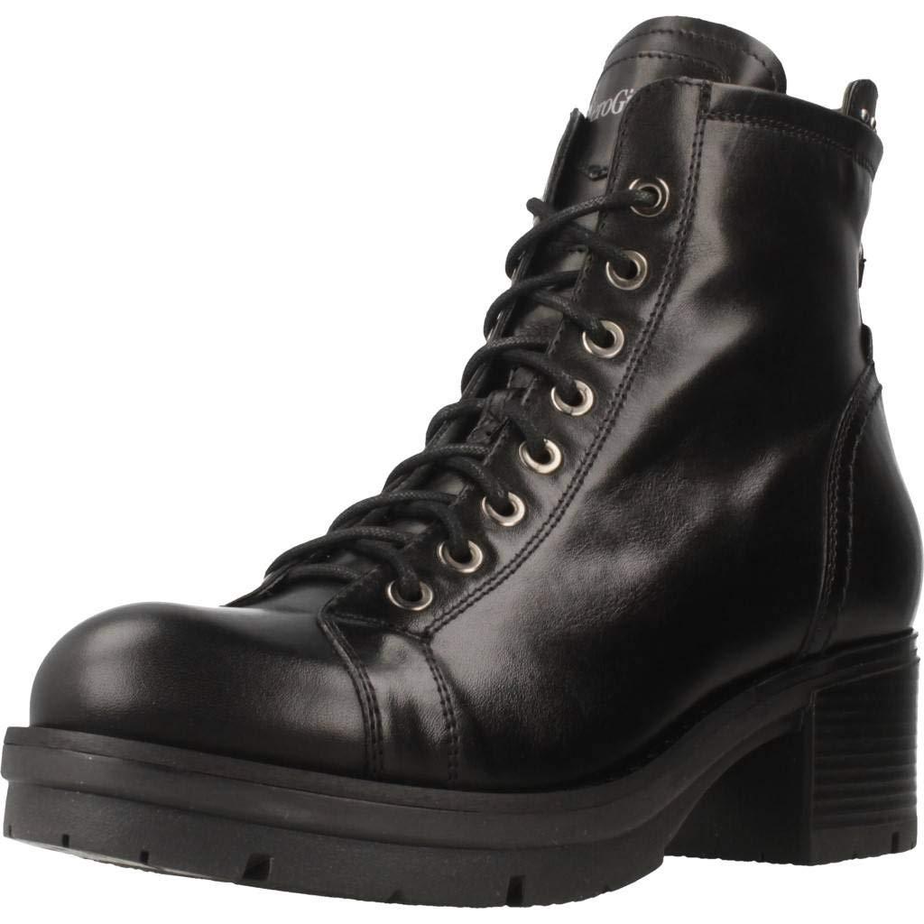Schwarz Giardini Stiefelleten Stiefel Damen, Farbe Schwarz, Marke, Modell Stiefelleten Stiefel Damen A807138D Schwarz