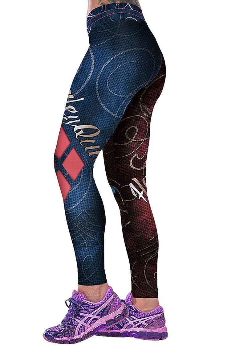 Amazon.com: cooleggings para mujer impresión Digital 3d Yoga ...