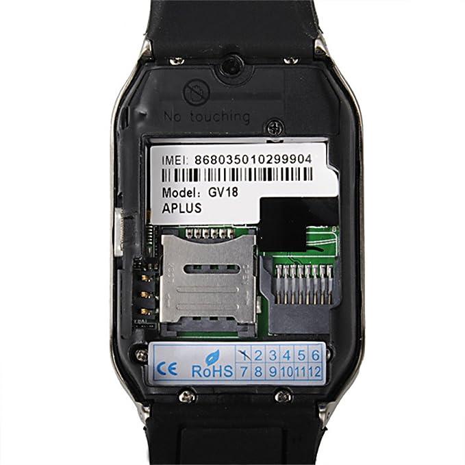 ELEGIANT GV18 Smartwatch Reloj Bluetooth Sleep sédentaire ...