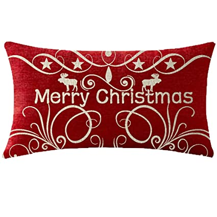 niditw nice sister birthday gift merry christmas and happy new year moose floral pattern red cotton