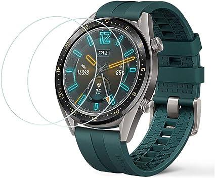 LZS Protector de Pantalla para Huawei Watch GT Active Dureza 9H A ...