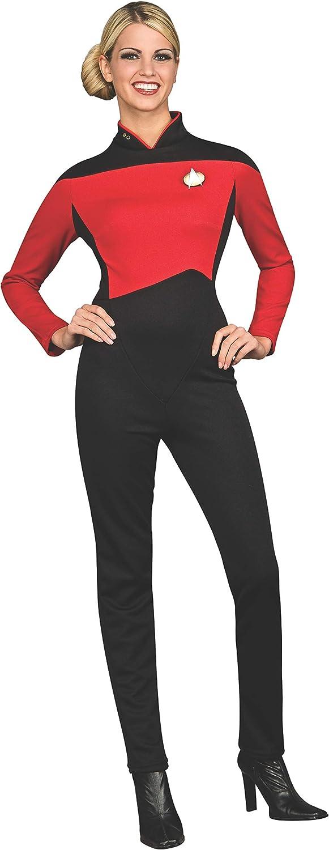 Rubies Disfraz de Comandante Rojo Star Trek La Nueva Generación ...